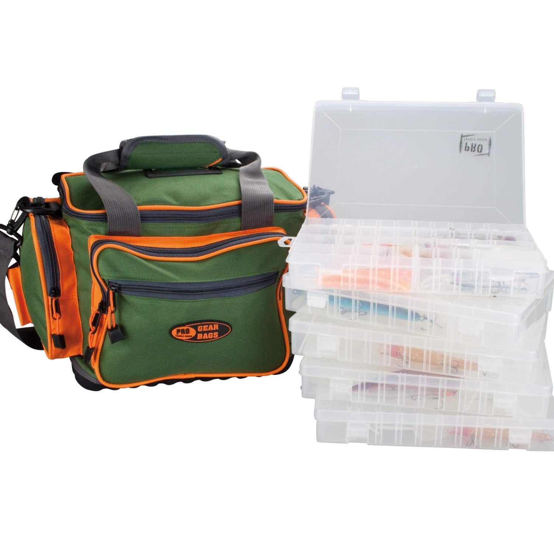 Gear Bag Tasche MX Angeltasche inkl 2 Boxen Angelkoffer Umhäng Tasche Bag Angelzubehör 618105