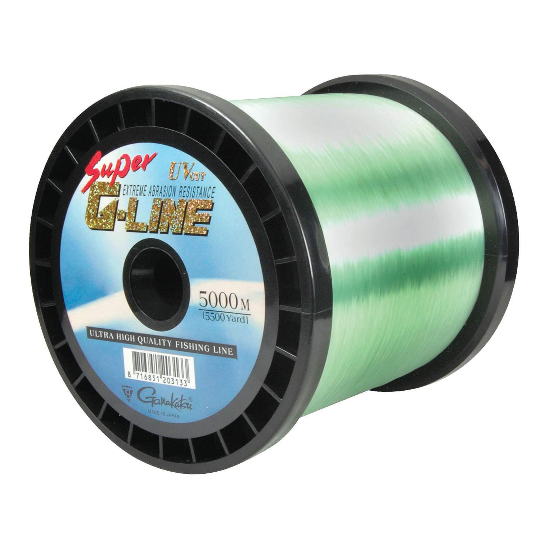 ( /m) Gamakatsu Super G-Line 5000m Schnur Schnur Schnur Monofil wassergrün 0,18mm-0,35mm 2750ad