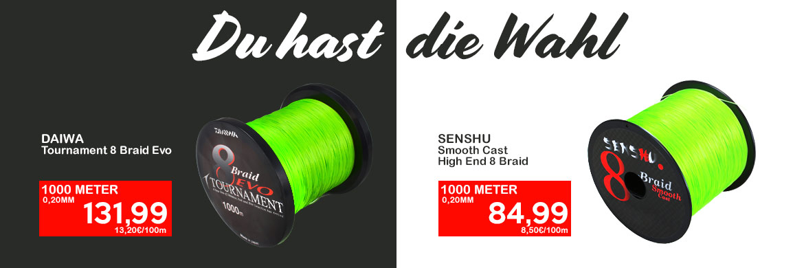 Senshu Smooth Cast High End Braid