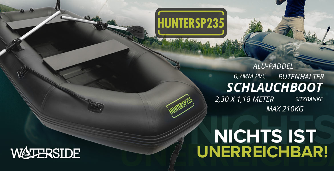 Waterside Schlauchboot Hunter-SP 235