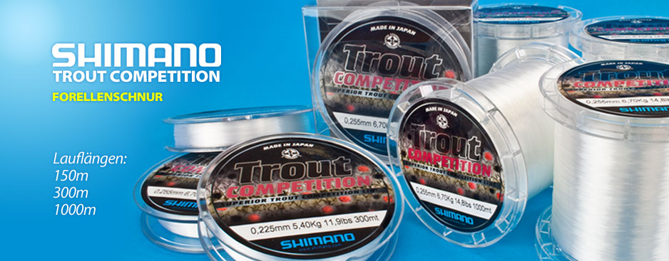 Shimano Forellenschnur Trout Competition
