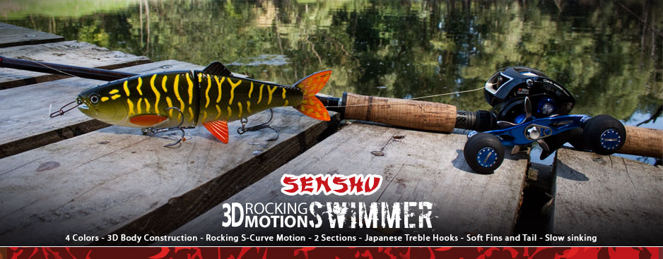 Senshu Rocking Motion Swimmer Swimbait