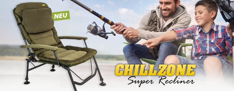 Chillzone Camping Stuhl Carp Chair