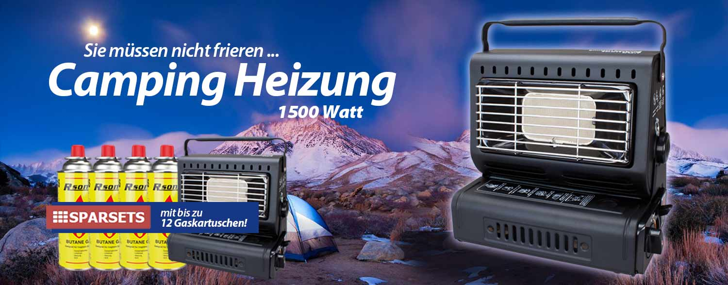 Everheat Camping Heizung Heizstrahler