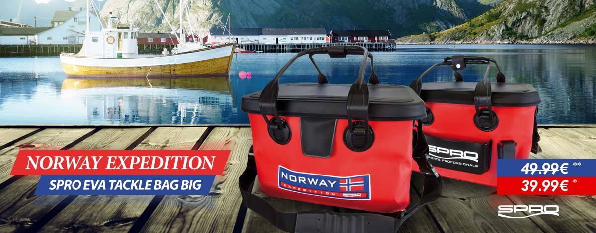 SPRO Norway Expedition EVA Tackle Bag