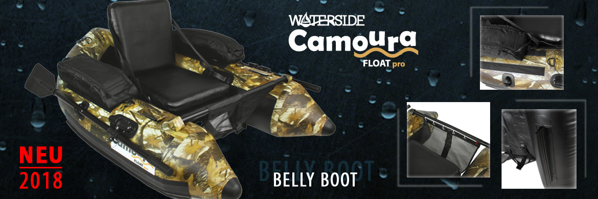 Waterside Belly Boat Camoura Float Pro